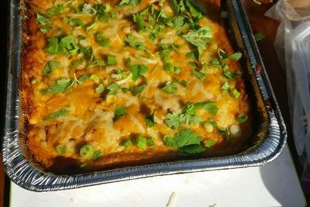 RiverWay Mike - Brisket or Pork Enchiladas