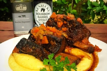 Ancho Espresso Beer Braised Short Ribs