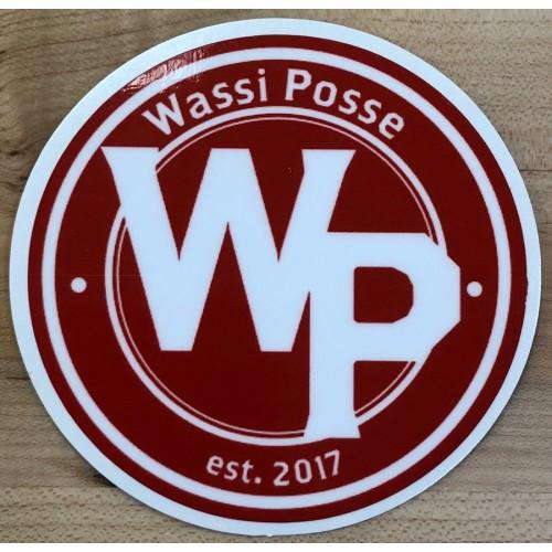 "Wassi Posse 3"" Die Cut Sticker"