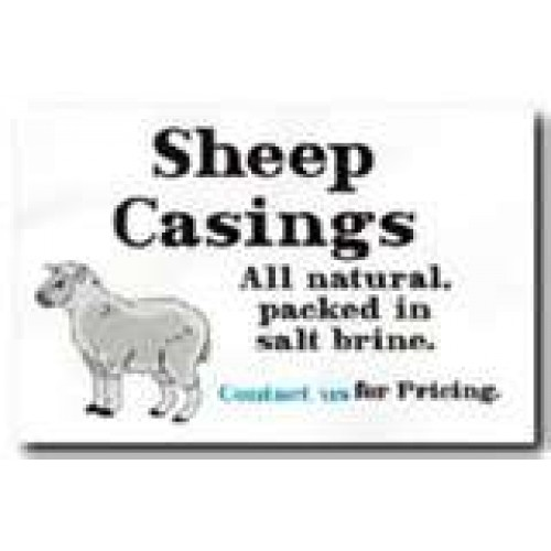 Sheep Casings