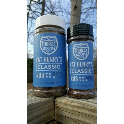 Fat Henry's Classic Rub 12 oz