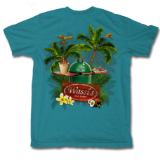 Wassi's Tropical BBQ T-Shirt