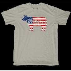 Star Spangled Steer T-Shirt