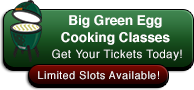Big Green Egg Cooking Classes Logo